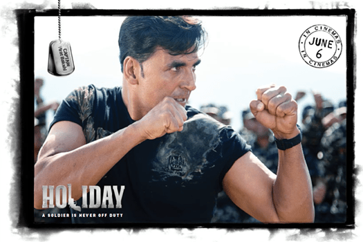 Akshay Kumar Fight Still On Postcard Of Holiday Movie A Soldier Is Never Off Duty