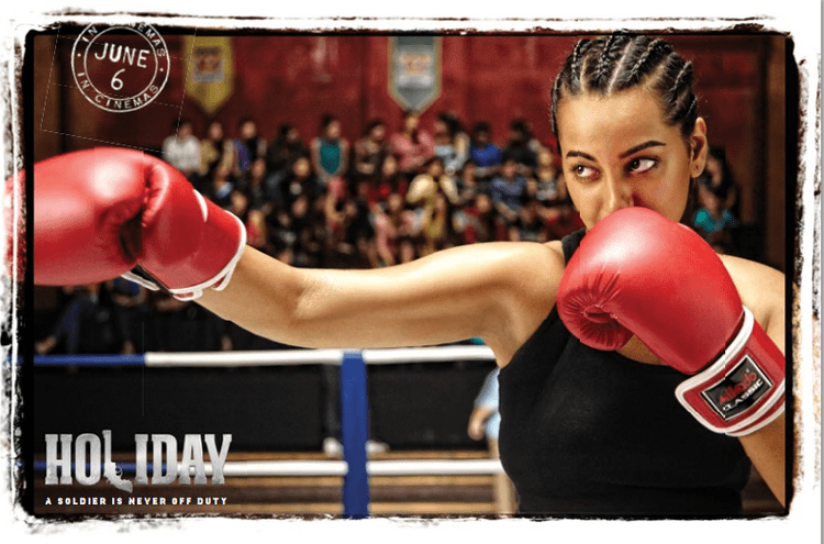 Boxer Sonakshi In Holiday Movie Latest Postcard