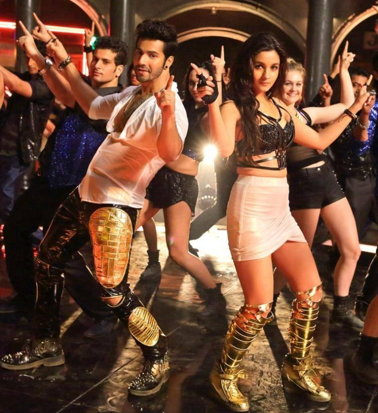 Varun Dhawan And Alia Go Funky And Futuristic With Saturday Song