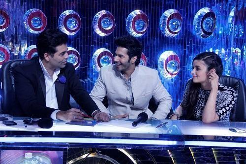 Varun Dhawan And Alia Bhatt Promote Humpty Sharma Ki Dulhania On Jhalak Dikhhla Jaa 7