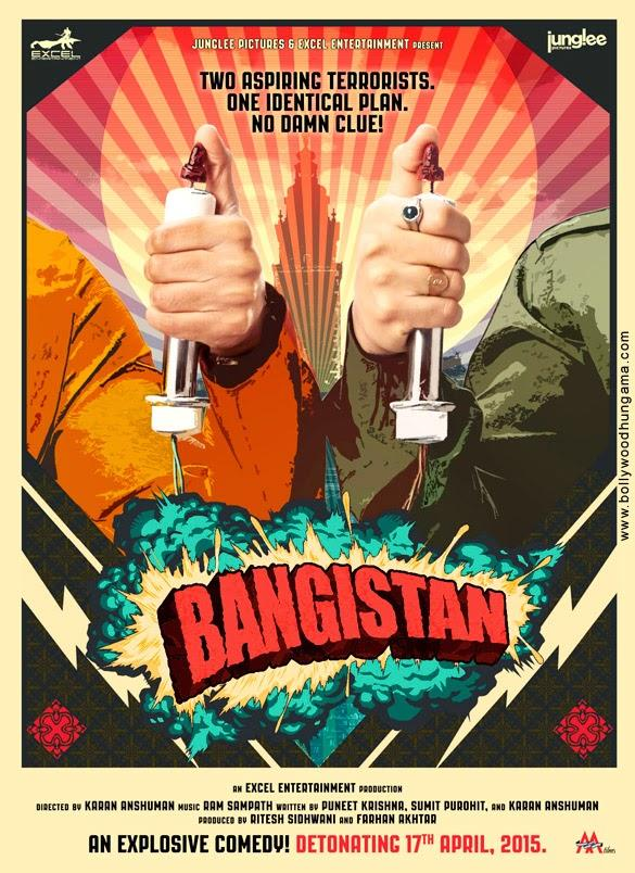The Aspiring Terrorists In Bangistan's First Look Poster