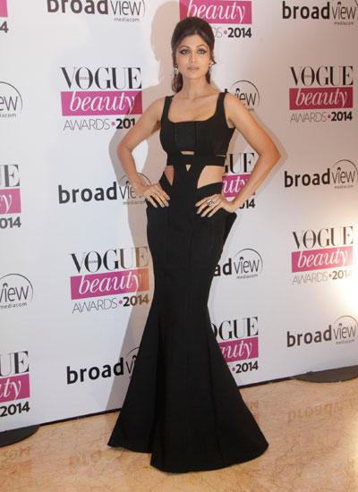 Shilpa Shetty Flaunted Her Fabulous Figure In A Cut-Out Dress