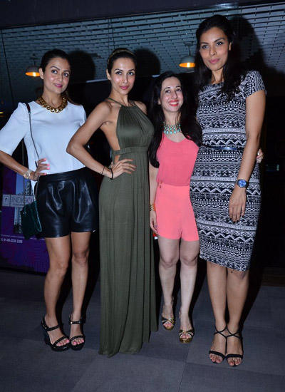 Amrita With Sister Malaika And Deepti Gujral Strike A Pose During Power Women Fiesta Event
