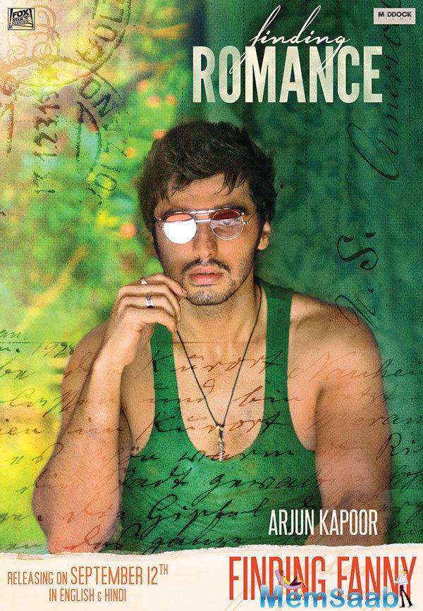 Arjun Kapoor Damp Look In Finding Fanny Movie Wallpaper