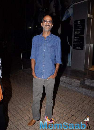Rohan Sippy Smiling Pose At The Finding Fanny Screening Hosted By Homi Adajania