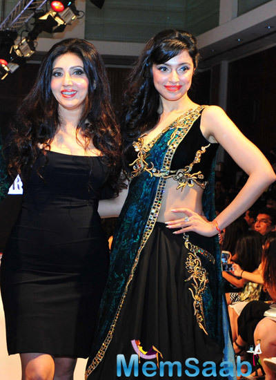 Divya Showstopper At The Launch Of MUAAK By Archana At IFW 2014
