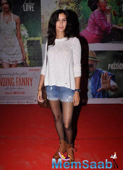Pragya Yadav Looking Hot In This Outfit At Finding Fanny Screening