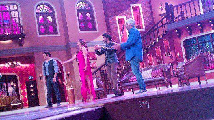 Kapil,Bipasha,Imran Abbas And Vikram Talk With Audience On The Sets Of CNWK