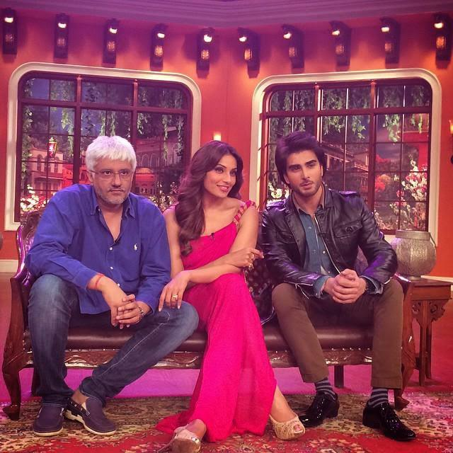 Vikram,Bipasha And Imran Abbas On CNWK For Promoting Creature 3D