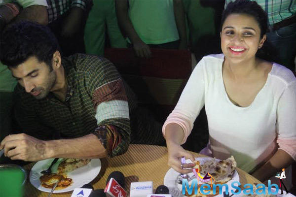 Parineeti And Aditya Dinner At Pal Dhaba Which Famous For Its Authentic North India Cuisine
