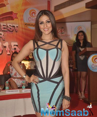 Aarti Chhabria Clicked During The Country Club New Year Bash Media Meet