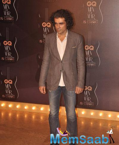 Director Imtiaz Ali Attend The GQ Men Of The Year Awards 2014