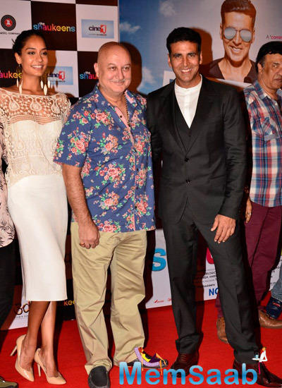 Shaukeens Lead Characters Pose On Red Carpet At Its Trailer Launch Event