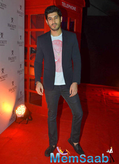Mohit Marwah Dashing Look In Red Carpet At The Hackett London First Store Launch Party