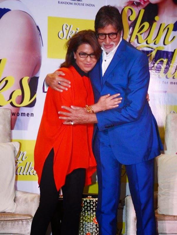 Neetu Singh And Amitabh Bachchan Greet To Each Other During The Book Launch Of  Dr Jaishree Sharad