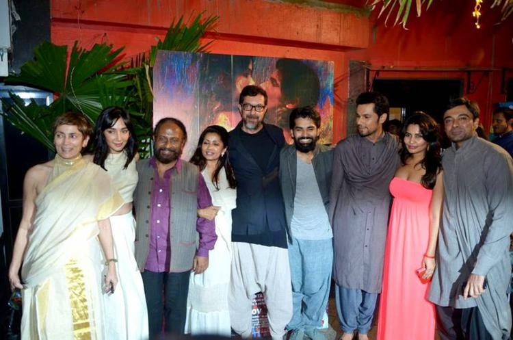 Randeep Hooda And Others Clicked During The Rang Rasiya Promotional Event