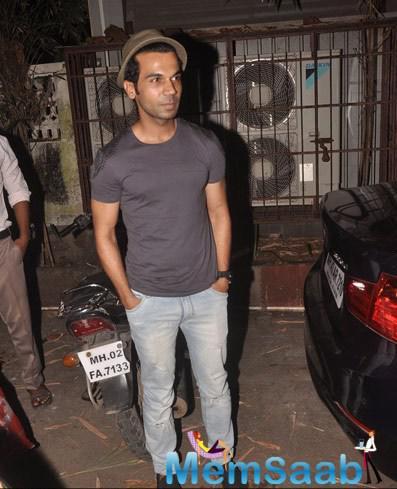 Rajkummar Rao Nice Look At The Special Screening Of Sonali Cable Movie
