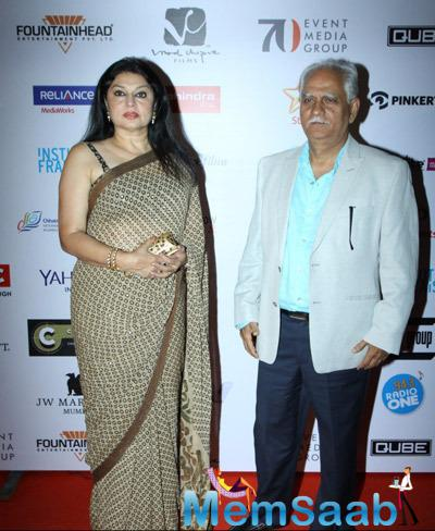Kiran Juneja With Hubby Ramesh Sippy Attend The Opening Ceremony Of 16th Mumbai Film Festival 2014