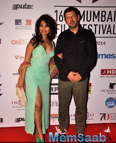 Rachana Shah Sexy Look On Red Carpet During The Opening Ceremony Of 16th Mumbai Film Festival 2014