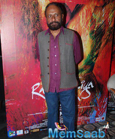 Ketan Mehta Posed At Promotional Event Of Film Rang Rasiya