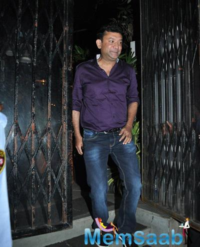 Director Ken Ghosh Attended The Birthday Bash Of Actress Tabu
