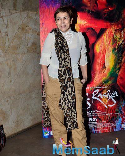 Deepa Sahi Seen At The Screening Of Rang Rasiya