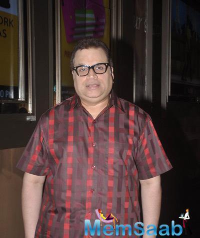 Ramesh S. Taurani Present At The Screening Of Shaukeens Movie