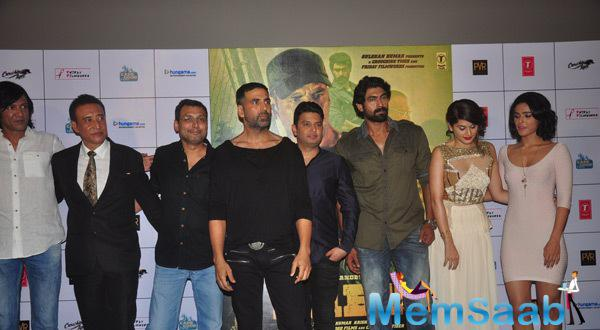 Star Crew Of Baby Posing At The Launch Of First Look