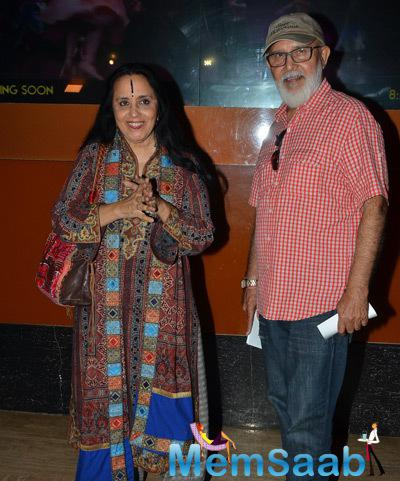 Ila Arun Attend The Premiere Of Film Bhopal A Prayer For Rain
