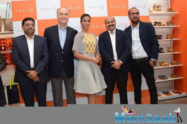Ileana D'Cruz Launched A Footwear Store In GIP Mall At Noida