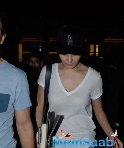 Anushka Sharma Returning From Dubai After Promoting PK