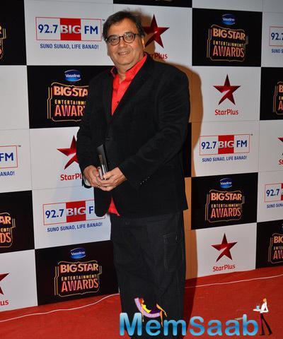 Subhash Ghai Nice Pose At BIG STAR Entertainment Awards