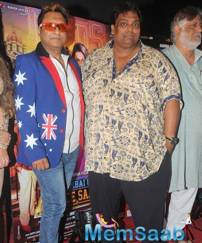 Ganesh Acharya Present During The Trailer Launch Of Mumbai Can Dance Saala