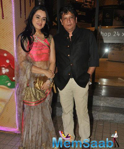 Padmini With Hubby Tejaswini Attend The Special Screening Of Ugly