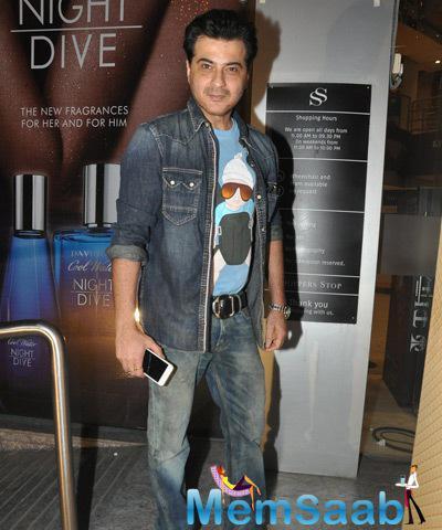 Sanjay Kapoor Snapped At PVR Juhu For Ugly Screening