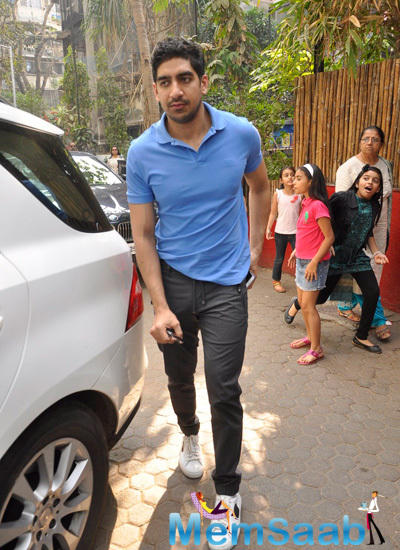 Ayan Mukherjee Arrived At Shashi Kapoor Christmas Party