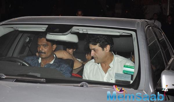 Armaan Kohli Snapped At Outside Popular Mumbai Nightspots By Shutterbugs