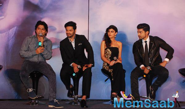Ankit Tiwari,Ali Fazal,Sapna Pabbi And Gurmeet Choudhary Unveiled The Music Of Their Upcoming Movie Khamoshiyan