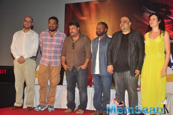 Anurag Kashyap And Others Pose For Camera At My French Film Festival
