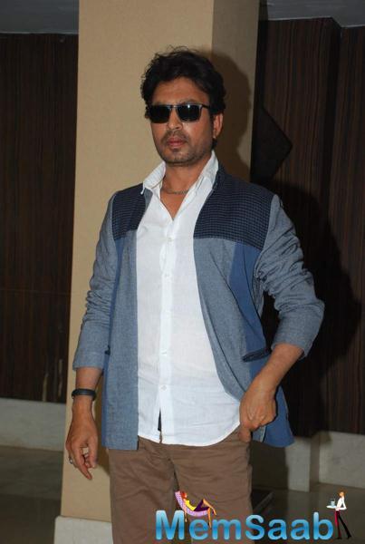 Irfan Khan Attended The Script Reading Session Of Jazbaa In Mumbai