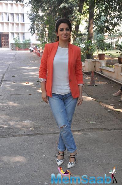 Tisca Chopra Snapped At Rahasya Media Meet