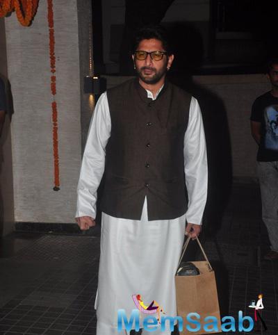 Arshad Warsi Nice Look During Soha Ali Khan And Kunal Khemu Wedding Party