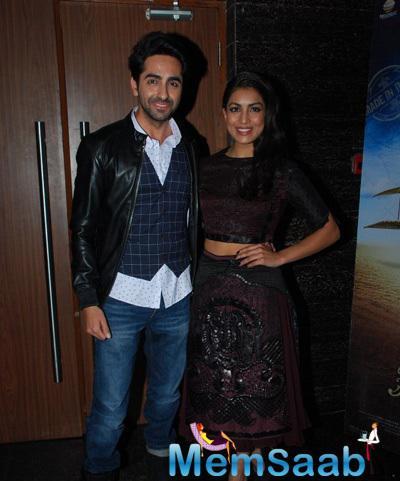 Ayushmann Khurrana And Pallavi Sharda Plays Lead Role In Hawaizaada Movie