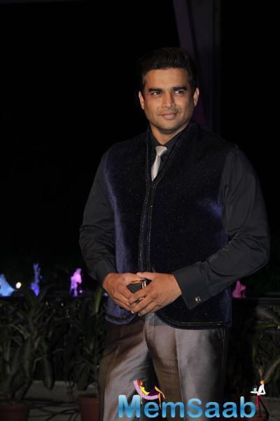 R Madhavan Graced At Smita Thackerey Son Wedding Reception