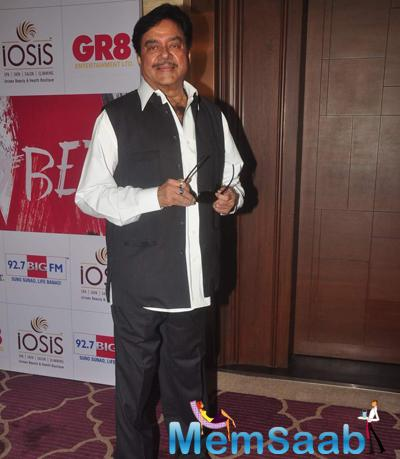 Shatrughan Sinha Posed During The Beti Bash 2015
