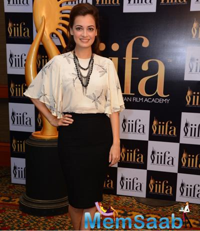 Dia Mirza The First Who Came To Show Their Support