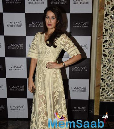 Sagarika Ghatge Attended The First Show Of Lakme Fashion Week Summer-Resort 2015