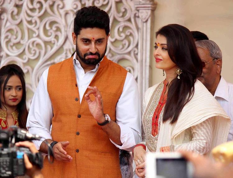 Abhishek And Aishwarya Celebrates Gudi Padwa