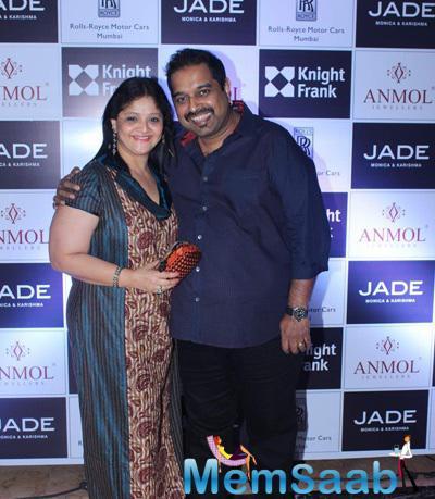 Shankar Mahadevan Smiling Pose At Anmol Jewellers Era Of Design Fashion Show