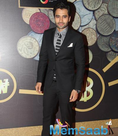 Jacky Bhagnani Casual Look During The Times Now ICICI NRI Of The Year Award Function